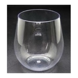 540ml - 18.2 oz polycarbonate stemless Wine glasses