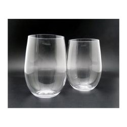 440ml - 14.8 oz unbreakable polycarbonate stemless Wine glasses
