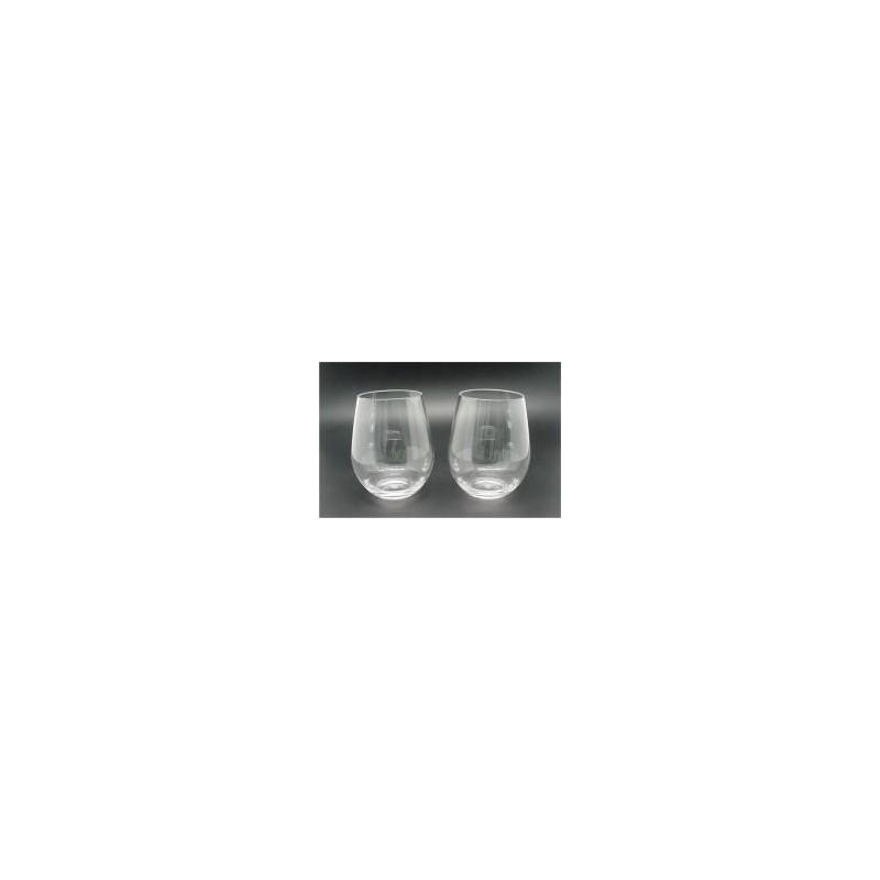 588ml - 19.8 oz polycarbonate stemless Wine glass