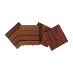 Solid Wood Deck Tiles