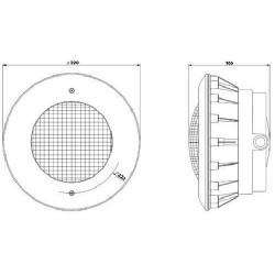LED Pool and Spa LED lights niche & housing