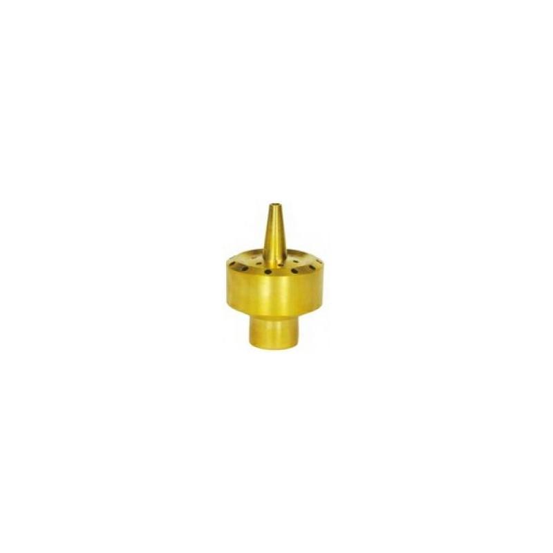 Festive spray brass fountain nozzle
