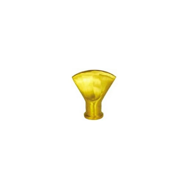 Fan jet brass fountain nozzle