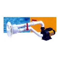 Pool counterflow swimming system