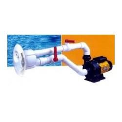 Swim spa system for swim workout, training pool