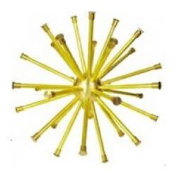 Ball Dandelion spray brass fountain nozzle