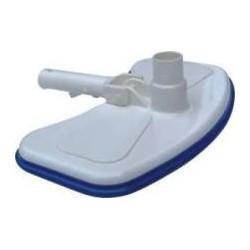 Vacuum head for swimming pools